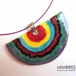 wisior,ceramika,mimbres - Wisiory - Biżuteria