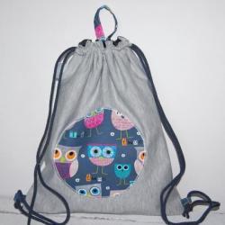 worek,plecak,sowy,dla dziecka - Dla dzieci - Akcesoria
