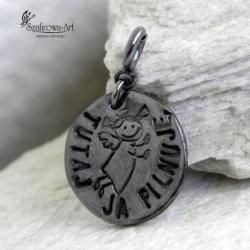 wisior,charms,prezent,personalizacja,anioł - Charms - Biżuteria