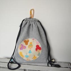 worek z dresu,plecak,dla dziewczynki - Dla dzieci - Akcesoria