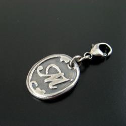 srebrna,indywidualna - Charms - Biżuteria