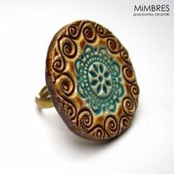pierścionek,mimbres,cudo na palec - Pierścionki - Biżuteria