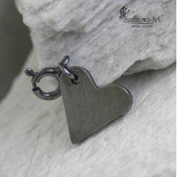 charms,wisior,serce,prezent - Charms - Biżuteria