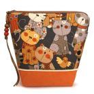 Kosmetyczki kosmetyczka,do torebki,na kosmetyki,prezent,koty