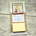 Notesy lodówka,magnes,kuchnia,kalendarz,notes