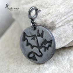 charms,serce,diabeł,wisiorek,piekło - Charms - Biżuteria