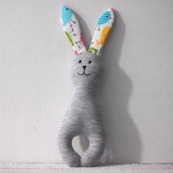 królik,przytulanka,maskotka - Zabawki - Akcesoria