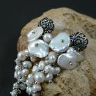 Kolczyki perłowe,niebanalne