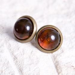 KOLCZYki,sztyfty,wkrętki,z kamieniami,prezent - Kolczyki - Biżuteria