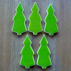 choinka,leśne,świąteczne,choinkowe - Magnesy na lodówkę - Wyposażenie wnętrz