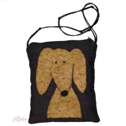 urocza torebka,dla dziewczynki,aplikacja,pies - Dla dzieci - Akcesoria