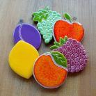 Ceramika i szkło owoce,soczyste,kolorowe,winogrono,malina