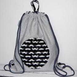 worek,plecak,wąsy,dla dziecka - Dla dzieci - Akcesoria