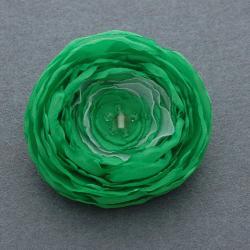 kwiat,broszka,dodatek,ozdoba,świeżość,zieleń, - Broszki - Biżuteria