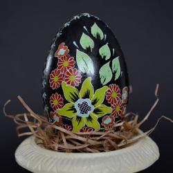 pisanka,ręcznie malowana,na stół Wielkanocny - Magnesy na lodówkę - Wyposażenie wnętrz