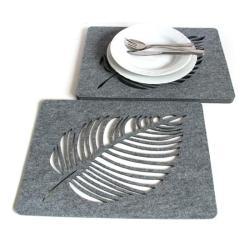 podkładki,filcowe,pod talerz,ażurowe,nowoczesne - Inne - Wyposażenie wnętrz