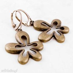 kolczyki,kwiaty,motyw kwiatowy,casual - Kolczyki - Biżuteria