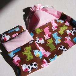 upominek,prezent,dziewczynka,woreczek, - Komplety - Akcesoria